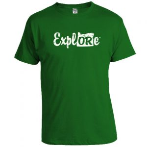 ExplORe – Distressed T-Shirt