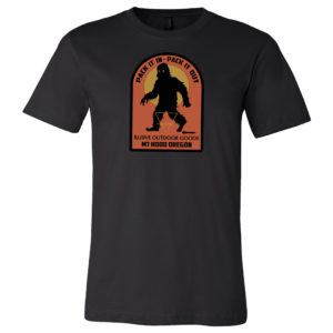 Ilusive Bigfoot Mens T-Shirt