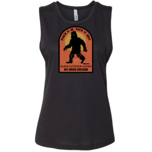 Ilusive Bigfoot Ladies Tank